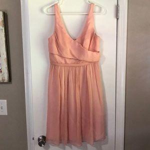 Pink J. Crew dress size 8